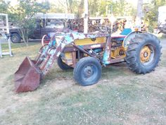 FORD 4110 with Allied 300 Loader Before Paint  9/15/16