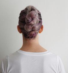 Bun Mohawk | Short Hairstyles
