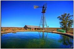 childhood / memories / farm dam / swimming / plaasdam/ onthou / fun / pret /good old days Farm Windmill, Seasons In The Sun, Back In The Day, Good Old, Country Life, Wind Turbine, South Africa, Scenery, Swimming