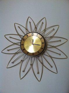 Vintage Lux Atomic Clock