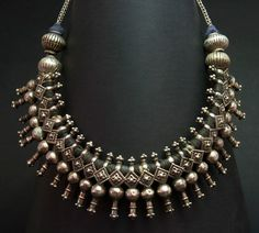 Afghanistan | Old silver Kuchi choker/necklace | ca. early 20th century | 1.250€