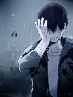 Pixiv Id 3984968, Haikyuu!!, Kageyama Tobio, Wet Hair, Wet, Rain