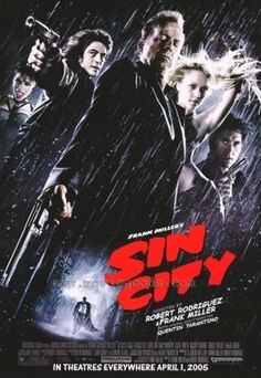 Sin City poster, t-shirt, mouse pad Clive Owen, Mickey Rourke, Robert Frank, Bruce Willis, Sin City 2005, Sin City Movie, Frank Miller Sin City, Rosario Dawson, Action Film