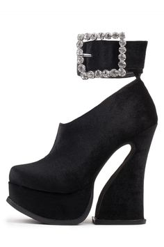 Jeffrey Campbell Shoes MINERVA Platforms in Black