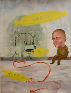 Artist: Fred STONEHOUSE, Title: Sweet or Rotten - click to close window