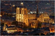 Places in europe - cathedral notre dame. ❤️ DesignAndTech.net