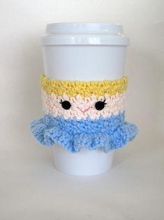 Crochet Cinderella Princess Coffee Cup Cozy by TheEnchantedLadybug, $15.00