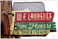 vintage fort worth neon signs | ... Flowers...S & H Green Stamps...Fort Worth | Flickr - Photo Sharing