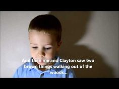 Nate's Deer Hunting Story. this little boy is adorable, his southern accent is so sweet...
