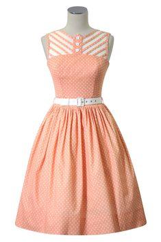 Hummingbird Picnic Dress