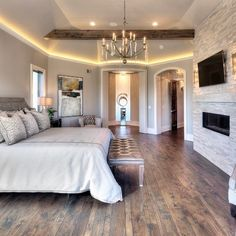 Rustic Glam Bedroom By Starr Homes