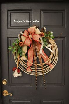 newest Custom Order Wreath Lariat Antler Rope Wreath Cowboy Christmas, Country Christmas, Christmas Stuff, Christmas Christmas, Western Wreaths, Country Wreaths, Umbrella Wreath, Christmas Wreaths, Christmas Decorations