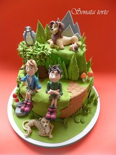Adventures brothers Kret - Cake by Sonata Torte