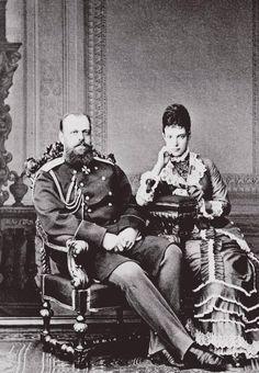 Alexander III and Maria Feodorovna
