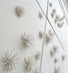 """https://flic.kr/p/7ucqQh   Cross Pollination - shibori   """"Cross Pollination"""" by Michelle Griffiths  Habotai and mousaline silk.  Mixed media. 2m x 2m installation   """"Scholar Exhibition"""" Embroiderer's Guild - Royal West of England Academy.  The title of this piece refers to the many influences which have inspired my own personal shibori vocabulary; from studying with, and observing the shibori artisans of Arimatsu, to the fabulous pollen images generated with an electron microscope…"""