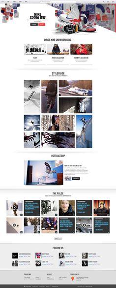 Nike Snowboarding - Hoshi Ludwig - Direction and Design