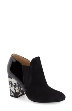 Kay Unger Leather Chelsea Bootie (Women)