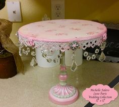 French Vintage Cake Stand Wedding Cake Stand Marie by luxeparis, $135.00