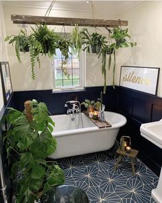 Bathroom Decor apartment Batroom Ideas, What You Need To Do Free Great Big Bathroom Ideas new 2019 - Page 5 of 29 - clear crochet House Plants Decor, Plant Decor, Home Plants, Inside House Plants, Big Bathrooms, Yellow Bathrooms, Sweet Home, Home And Garden, Indoor Zen Garden