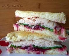 Turkey Sandwich with Cranberry & Gouda DontCallMeBasic AD @fosterfarms