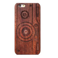 Design Wood Case for iPhone X