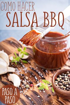 A BBQ just isn't the same without some BBQ sauce. While there may be dozens of BBQ sauces on the market, most of them are made from the same basic ingredients. So, why not use one of our homemade BBQ sauce recipes to make your own? Como Hacer Salsa Bbq, Receta Salsa Bbq, Salsa Alfredo Receta, Keto Bbq Sauce, Keto Sauces, Barbecue Sauce Recipes, Bbq Sauces, Pork Barbecue, Bbq Ribs