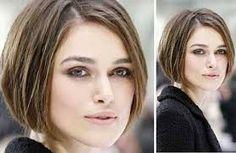 Resultado de imagem para corte chanel para rosto redondo