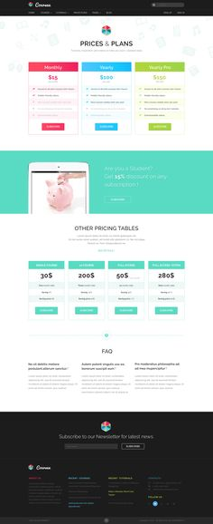 Bloggers Den - One Page Personal Blog Template #Page, #Den ...