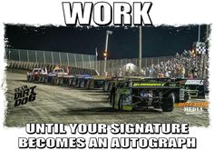Hard work and talent go boom. Racing Baby, Dirt Track Racing, Funny Car Memes, Car Humor, Race Quotes, Nascar Quotes, Dirt Bike Quotes, Country Girl Quotes, Sprint Cars