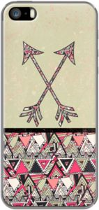 Case Retro Tribal Arrows Vintage Aarde Azteekse Patroon van Girly Trend