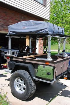 Offroad 416 trailer Jacks by drmoab, via Flickr - tomorrows adventures | tomorrows adventures