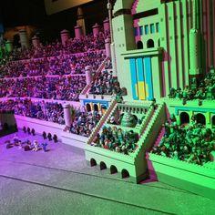 New Star Wars: Episode I exhibit debuts at LEGOLAND Discovery Center Atlanta! #LEGO
