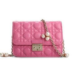 China Wholesale High Quality Ladies Dark Blue Elegance Leather Handbags
