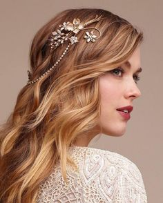 Wedding Hairstyles hairstyles ideas straight side ponytail low tuck up do rhsuch Short Wedding Hair, Wedding Hair Down, Wedding Updo, Wedding Makeup, Trendy Wedding, Best Wedding Hairstyles, Down Hairstyles, Bridal Hairstyle, Everyday Hairstyles