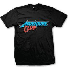 ADVENTURE CLUB -Logo- T-Shirt - Black