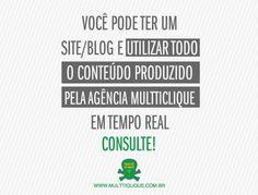 MulttiClique, o #conteúdo mais #feliz da #web é brasileiro!