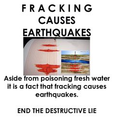 A Fracking Disaster: Scientists Directly Link Fracking To Earthquakes and Health Hazards