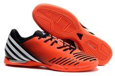 Adidas 2012 Predator LZ TRX IC Football Boots - Orange color snow black white