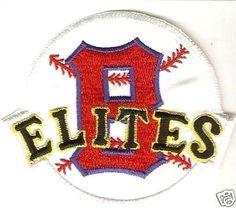 cc94170dbd5 Baseball Negro League USA   Cuba Baltimore Elite Giants Pro BallTeam 3 x  3.75 in Kadir