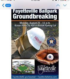 #baseball #fayetteville #astros almost here