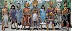 Superhéroes originarios.