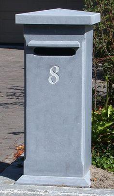 brievenbus uit blauwe steen - Google zoeken