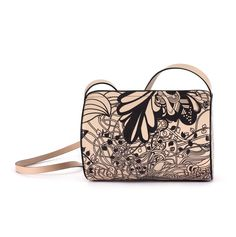 Enjoy worldwide delivery and shop this adorable handmade leather bag. Leather Crossbody Bag, Leather Handbags, Leather Bags Handmade, Luxury Bags, Wearable Art, Tube, Colours, Shoulder Bag, Ivy