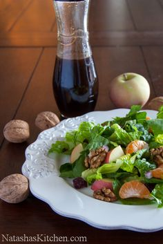 Mandarin Apple Salad Recipe & Dexas Giveaway