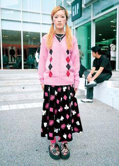 Japanese Street Fashion, Asian Fashion, Fruits Magazine, Fruit Picture, Harajuku Fashion, Cool Outfits, Street Style, Archive, Clothes