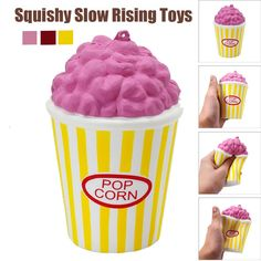 Bright Cute Squishy Mini Small Cloud Soft Slow Rising Squeeze Press Slow Rising Phone Strap Bread Cake Kid Healing Toy Bag Accessories Good Heat Preservation Bag Parts & Accessories