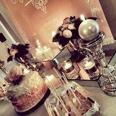 wedding candy corner