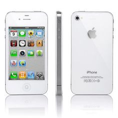 Straight Talk iPhone 4 8/16/32GB Apple Smartphone White FAST SHIPPING FROM NY | eBay