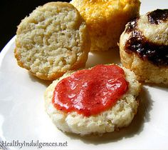 Makes four biscuits Ingredients: 1 and 1/2 tablespoons of unsalted organic butter or nonhydrogenated shortening 1 cup plus two tablespoons o...