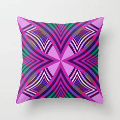 Mix #146 Throw Pillow by Ornaart - $20.00